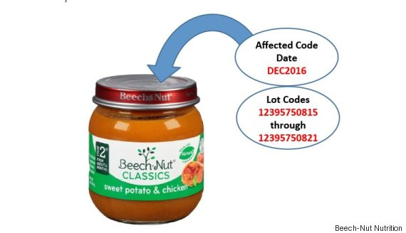 baby food recall