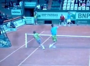 French Open Ball Boy
