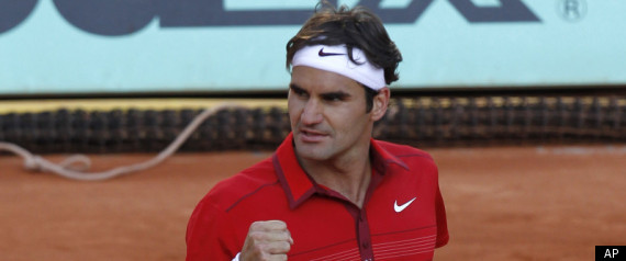 gael monfils hot. Roger Federer Gael Monfils