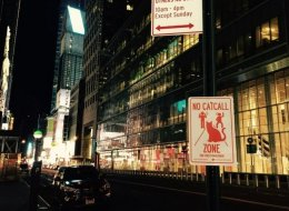 These Anti-Catcalling Signs Want To Stop Street Harassment In Its Tracks