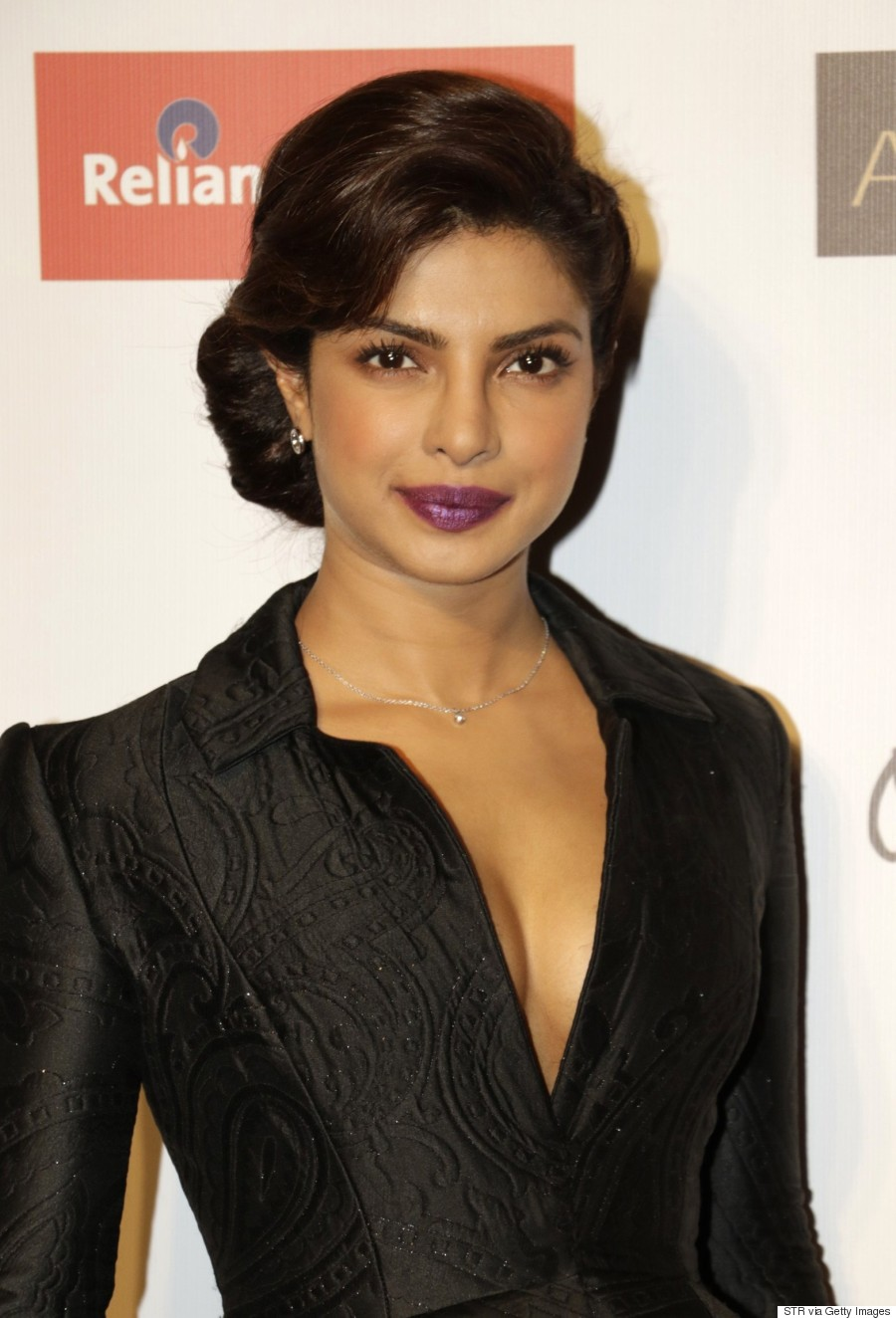 And Priyanka's style game wasn't the only thing she won that evening ...