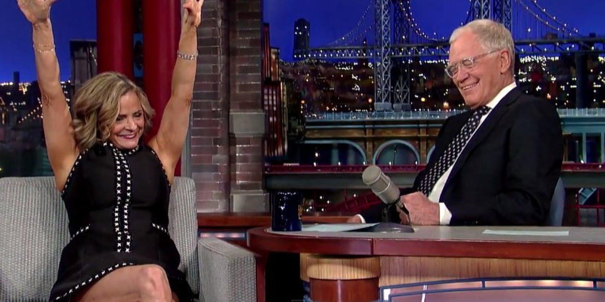 Amy Sedaris and david letterman