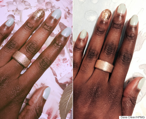 Essie gel setter is an easy way to cheat a manicure