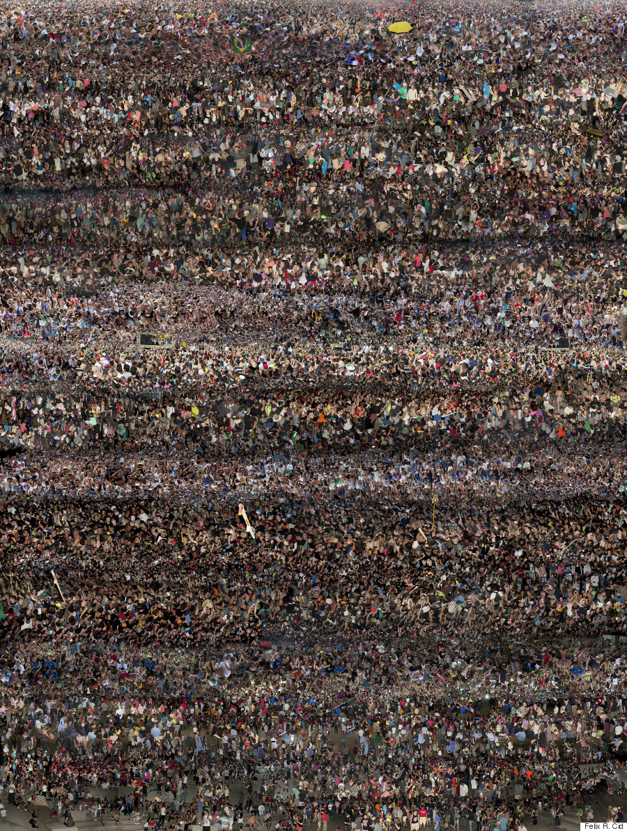 Felix R  Cid's 'X' Captures The Individuals In The Crowds At EDM