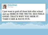 A Woman Live-Tweeted Her Teen's Abstinence-Only Sex Ed Class