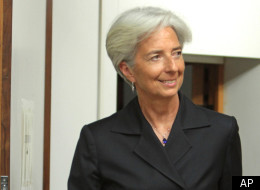 Out Of The Pool, French Finance Minister Christine Lagarde Is Making Waves