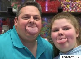 Dad And Daughter Have World's Widest Tongues