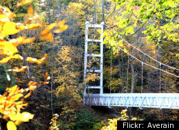 Cornell Suspension Bridge 2