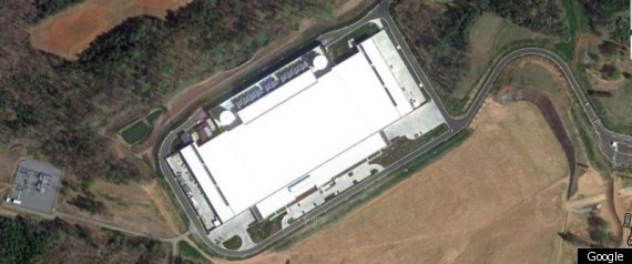 APPLE DATA CENTER MAIDEN NORTH CAROLINA GOOGLE MAP