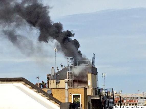 great portland street fire