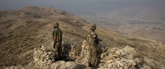 PAKISTAN GENERAL WAZIRISTAN OFFENSIVE