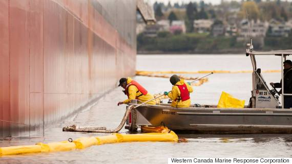 vancouver oil spill