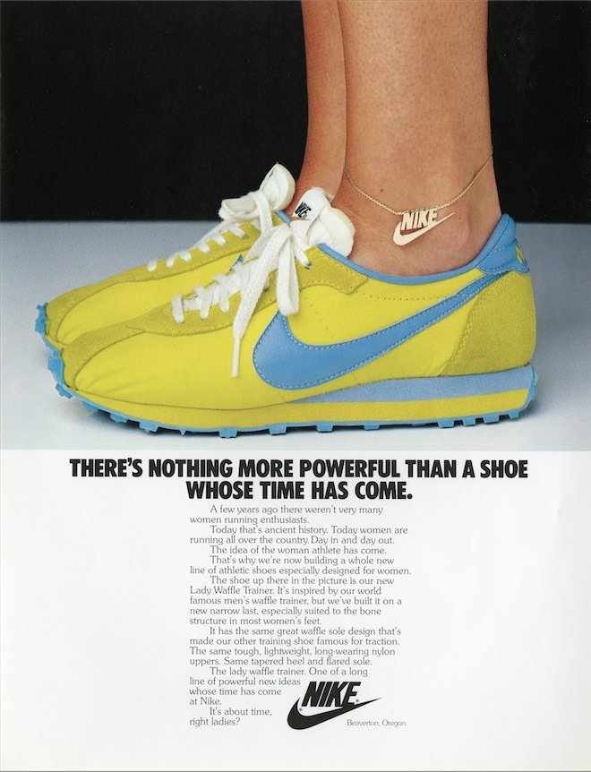 reputable site cb9b1 be556 Take A Look At These Retro Nike Ads For Women   HuffPost