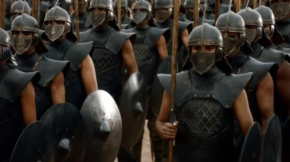 game of thrones unsullied
