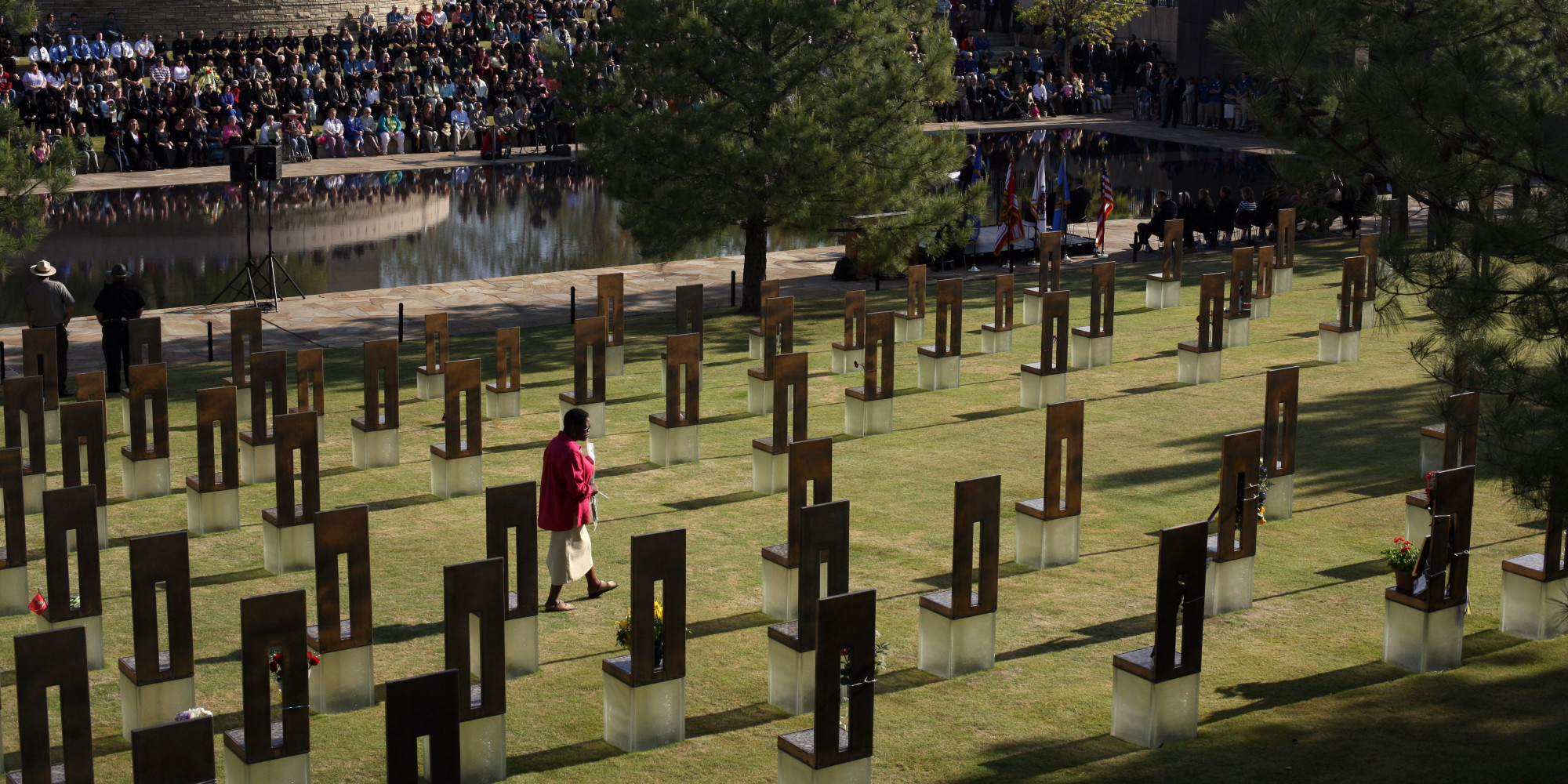 Obama Commemorates 20th Anniversary Of Oklahoma City