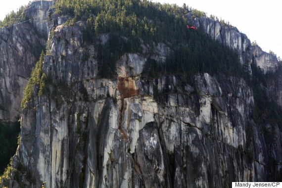 squamish rockslide chief