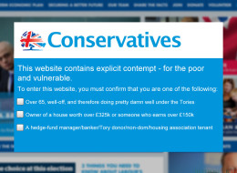 The Tory Party Has Tough New Restrictions On Who Can Enter Its Website