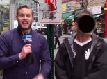 Dude Catcalls Women During Anti-Catcalling Report