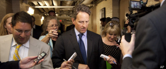 Geithner Tea Party Republicans Debt Ceiling