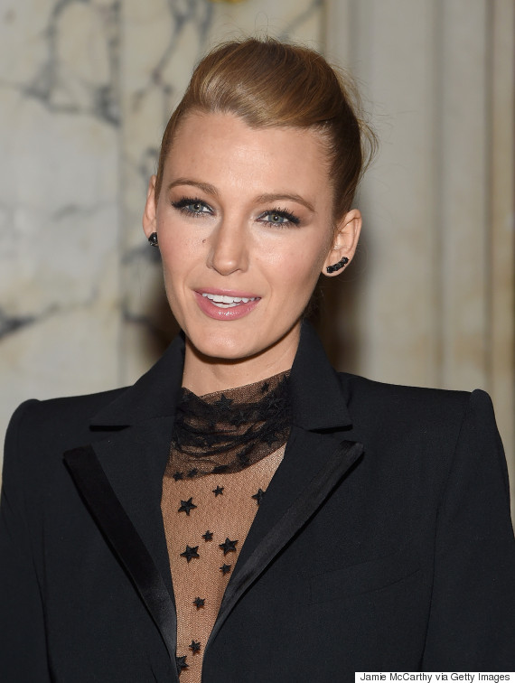 Blake Lively S Sheer Bodysuit Leaves Us Starry Eyed Huffpost