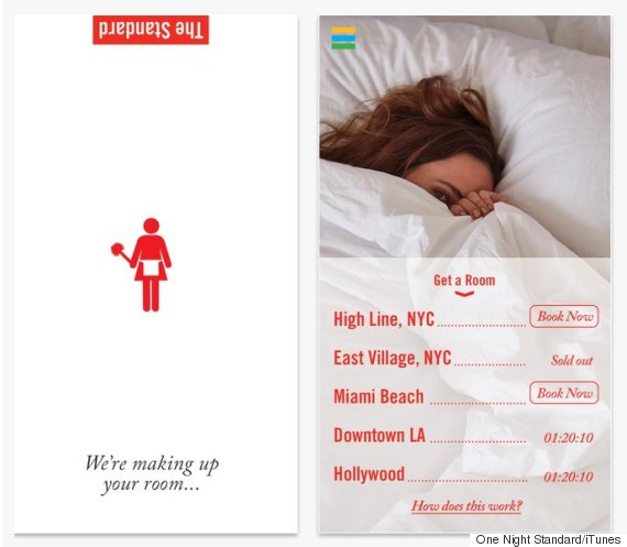 Apps for one night stands