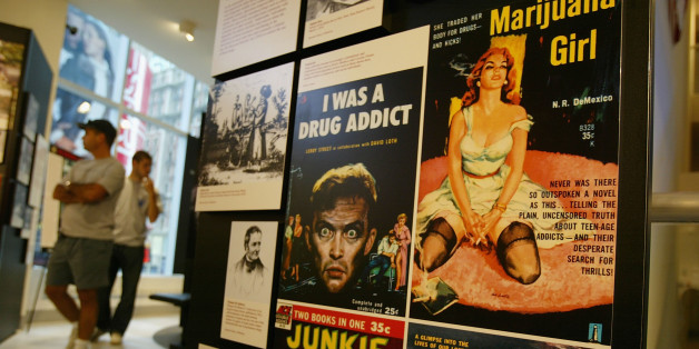 Images What I Learned at the DEA Museum | HuffPost 1 marijuana