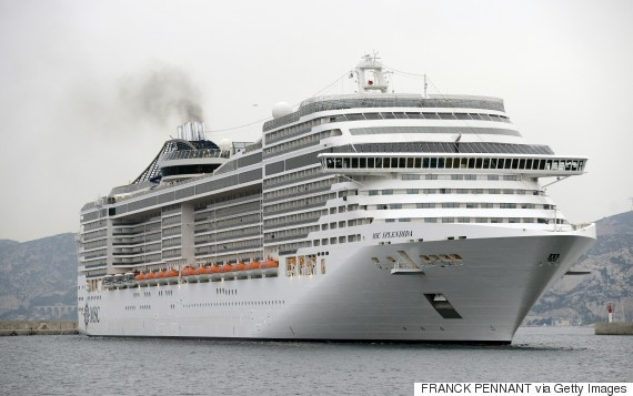 passengers cruise ship