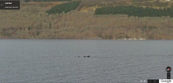 Loch Ness. In Its Description Of The Image, Google Posted: