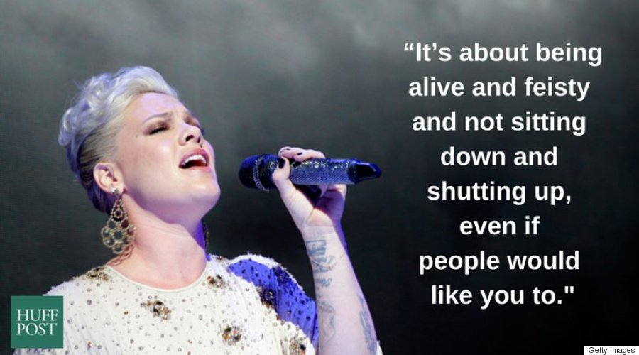 9 Times P!nk Proved That Every Woman Should Be Able To ...