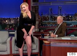 Amy Schumer Knows Exactly How To Make Letterman Blush
