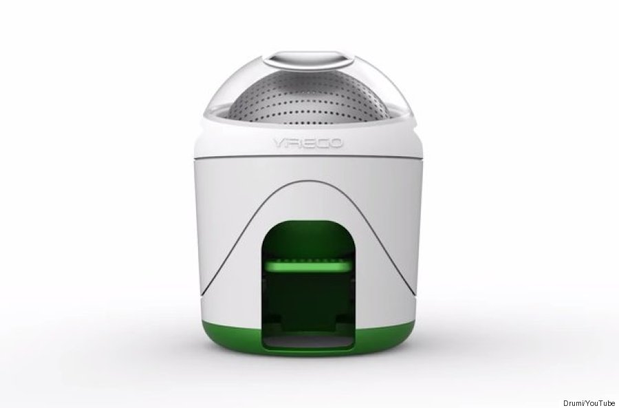 This pint sized washing machine is perfect for small spaces and great for the planet - Small space washing machines set ...