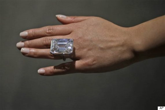 100 Carat Diamond To Be Auctioned Off For Estimated 25