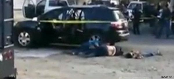 REPORTE: POLICÍA MASACRA A 16 PERSONAS EN MÉXICO (EXPLÍCITO)