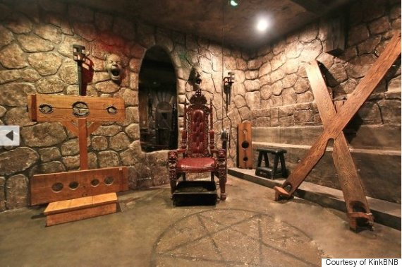a sex dungeon