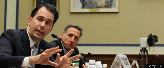SCOTT WALKER RECALL EFFORT LAUNCHING