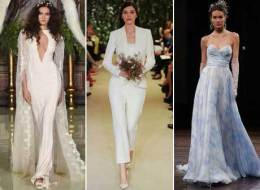 8 Wedding Dress Trends Hot Off This Season's Bridal Runways