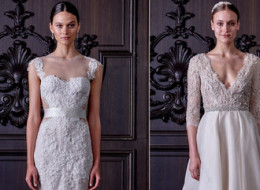 Monique Lhuillier's New Wedding Dress Collection Is Both Naughty And Nice