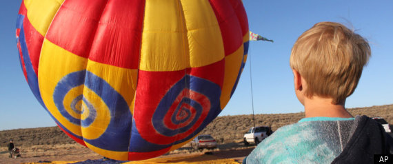 Bobby Bradley Youngest Hot Air Balloon