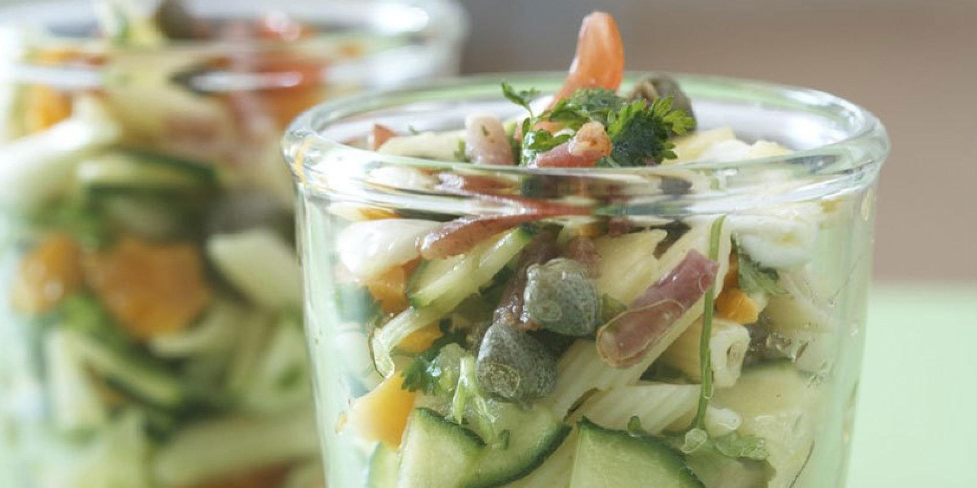 vite fait bien fait la salade de p 226 tes aux courgettes ce qu il ne fallait pas rater
