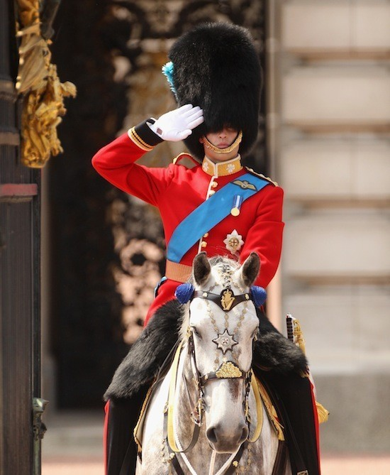 Prince William On Horseback For 'Trooping The Colour