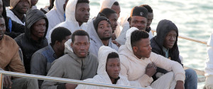 Italy Migrants Boat