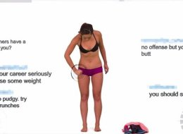 Fitness Blogger Photoshops Her Body In Real-Time In Response To Hateful Comments