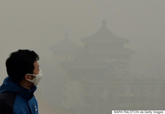 beijing pollution face mask