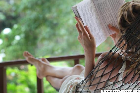 woman hammock