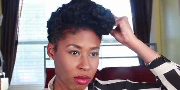 Sensational Five Natural Hairstyle Ideas For Busy Moms The Huffington Post Short Hairstyles Gunalazisus