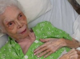 Watch 102-Year-Old Former Star See Footage Of Her Young Self Dancing For The First Time