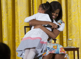 Little Girl Can't Believe Michelle Obama Is 51