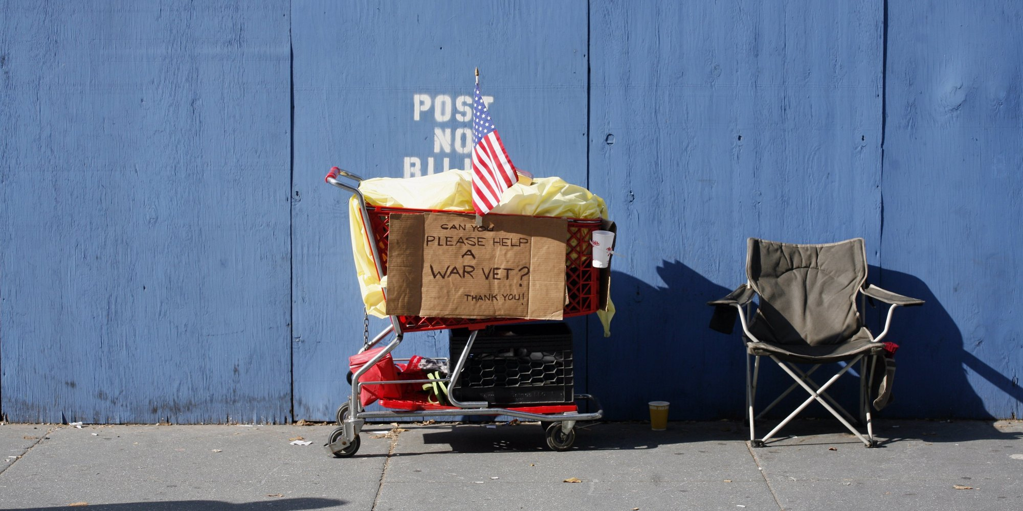 can new york city actually end veteran homelessness this year huffpost. Black Bedroom Furniture Sets. Home Design Ideas