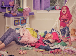 'Mom Life' Photo Series Is A Tribute To The Messier Side Of Parenting