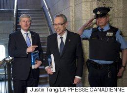 Commentaire sarcastique d'Oliver : Harper n'est pas insulté
